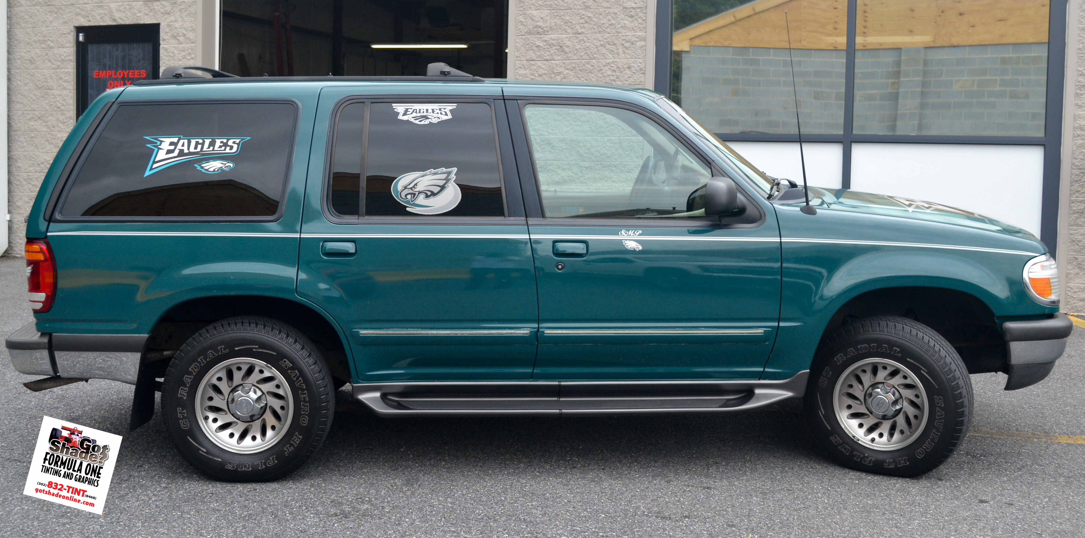 1998 ford explorer stripes and eagles decals 6