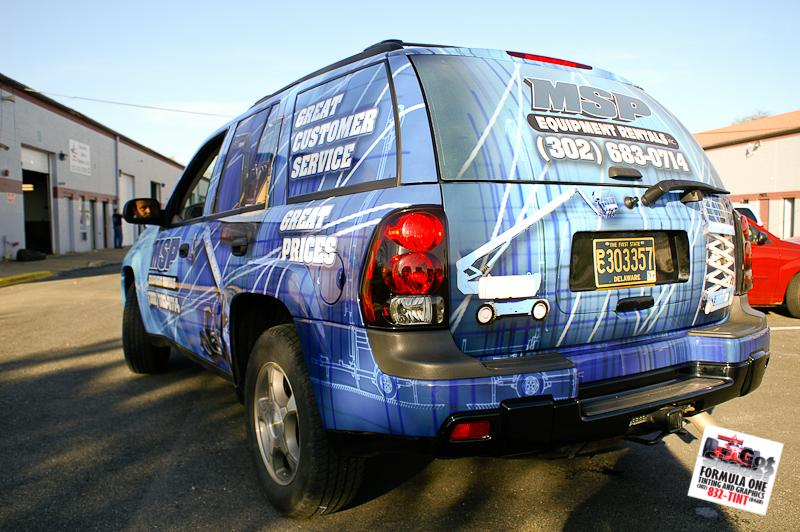 2003 Chevy Trailblazer Msp Equipment Rentals Gotshade