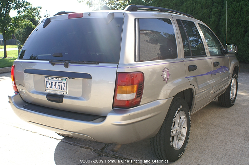 2004 Jeep Grand Cherokee Gotshade