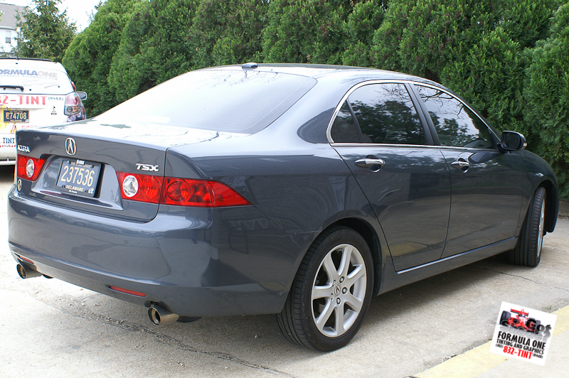 2007 Acura Tsx Custom >> GOTSHADEonline: Custom Vehicle Wraps, Window Tinting, Racing Stripes and Paint Protection in ...