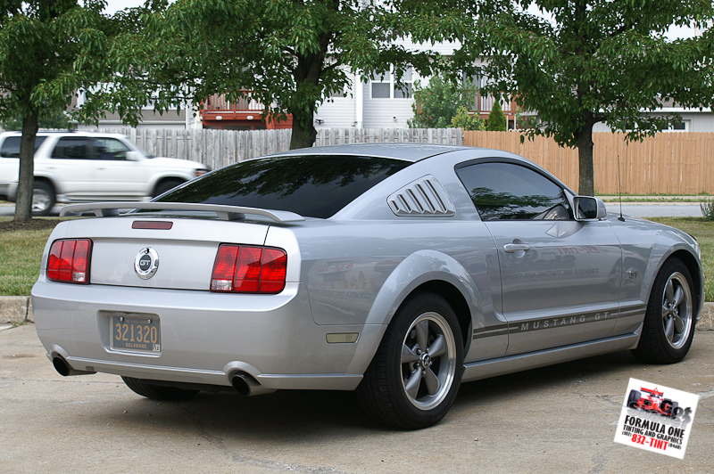 2006 Ford Mustang Hood Painted