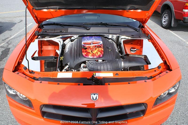 2008 Dodge Charger Daytona Orange Gotshade