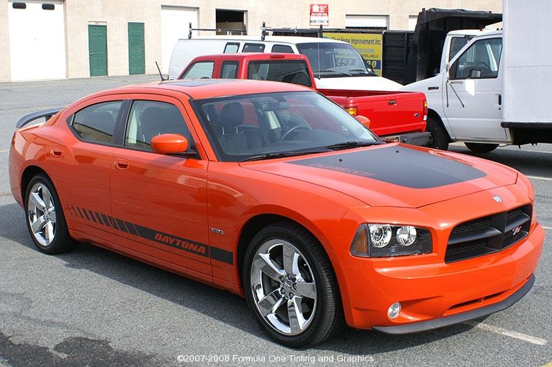 2008 Dodge Charger Daytona Orange | Gotshade