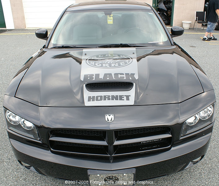 2008 Dodge Charger Black Hornet