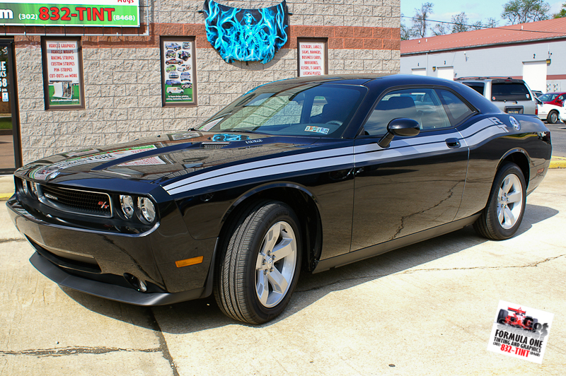 Dodge Challenger Black. 2010 Dodge Challenger – Black