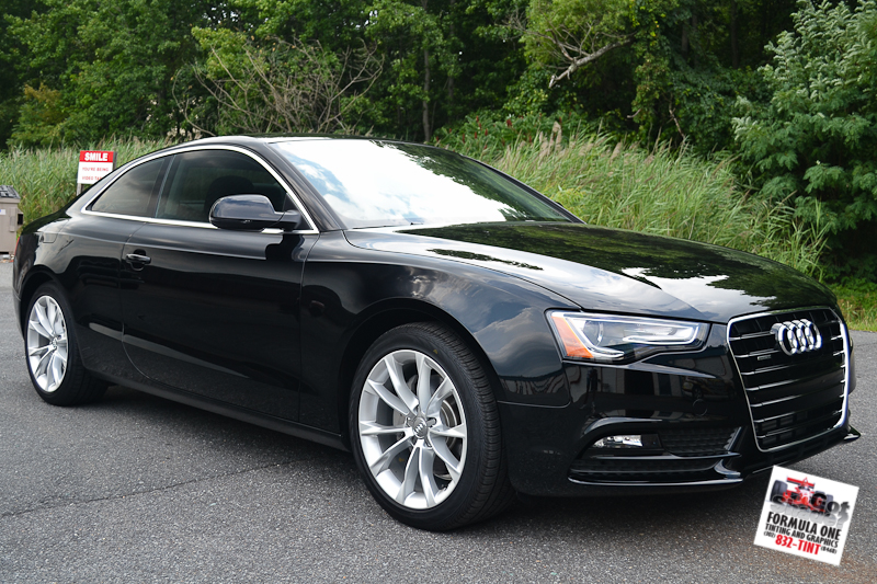 Picture 2013 audi a5 2 gotshadeonline custom vehicle for 2 5 window tint