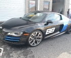 2010 Audi R8 - Conform Chrome Blue Supreme Wrapping Film