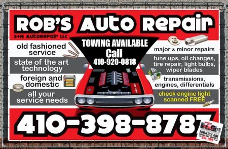 Vehicle Automotive Repair Signs | eSigns