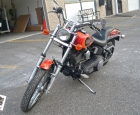 Harley Davidson - Custom Flame Wrap