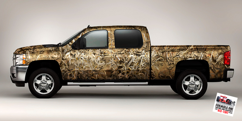 Camo Chevy Trucks