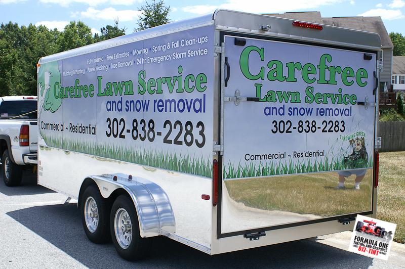 Trailer Carefree Lawn Service Gotshade