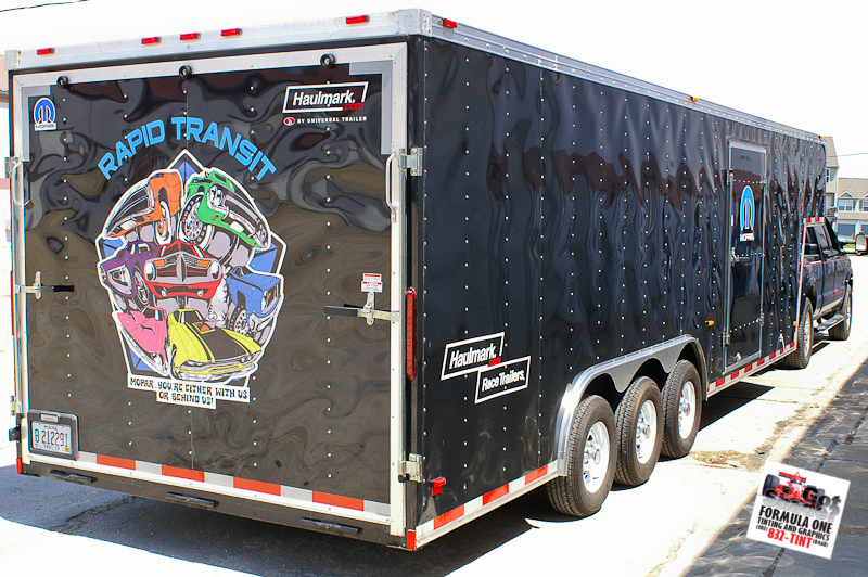GOTSHADEonline Custom Vehicle Wraps Tinting And Paint Protection - Custom vinyl decals for trailers