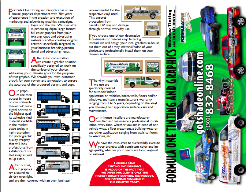 Vehicle Wrap Brochure